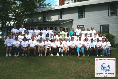 Holman Family Reunion T-Shirt Photo