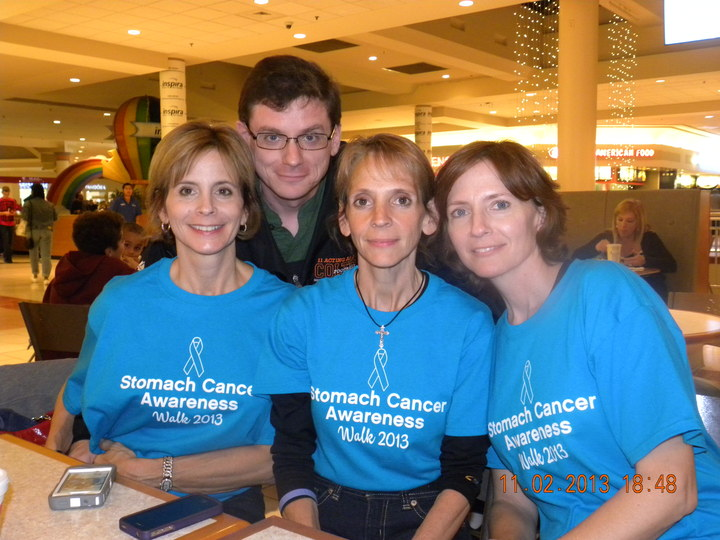 Stomach Cancer Awareness Walk T-Shirt Photo