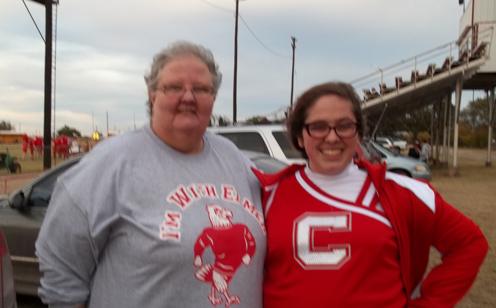 Nana And Mc Kenzie At Senior Night T-Shirt Photo