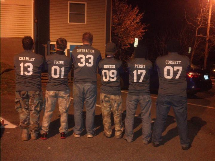 Zombie Awareness Organization Jerseys T-Shirt Photo