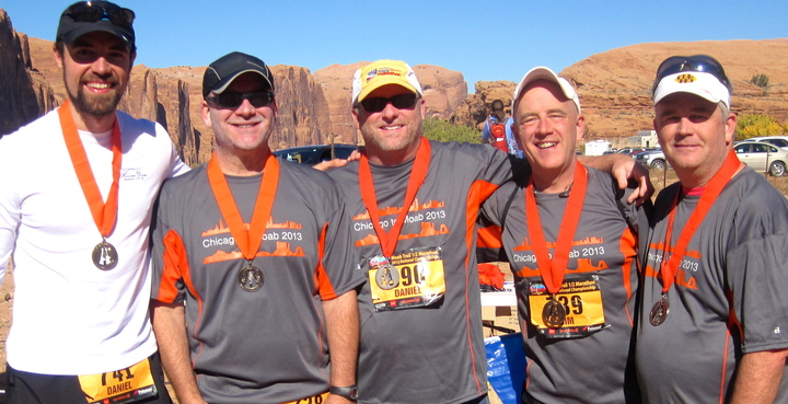 Moab Trail Half Marathon T-Shirt Photo