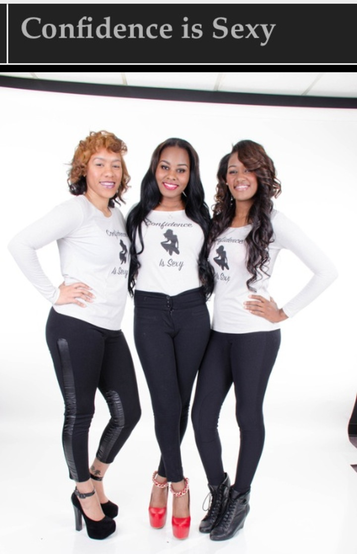 Ladies Being Confident T-Shirt Photo
