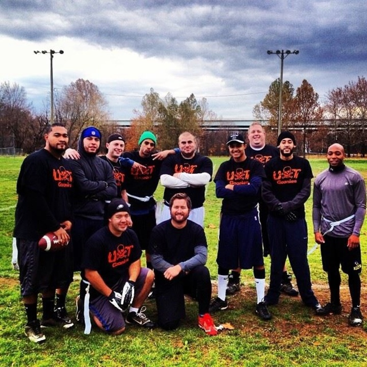 Ut Goonies Flag Football Team T-Shirt Photo