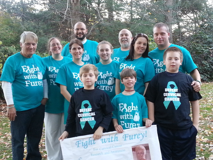 4th Annual Halloween 5k To End Cervical Cancer T-Shirt Photo