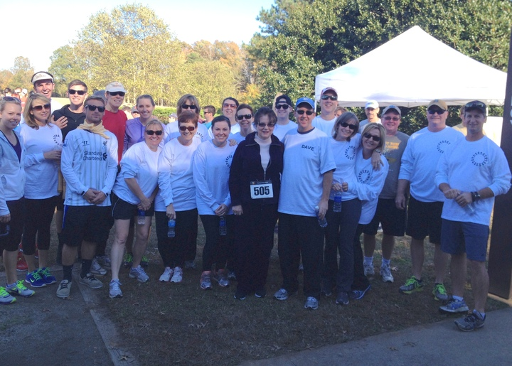 Walk For Epilepsy Foundation Of Nc #Teamdave T-Shirt Photo