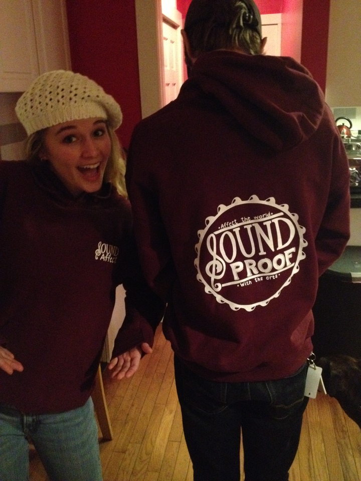 I Think They Like The New Hoodies! T-Shirt Photo