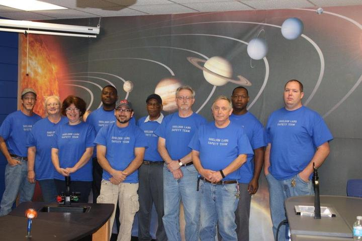 Safety Team T-Shirt Photo