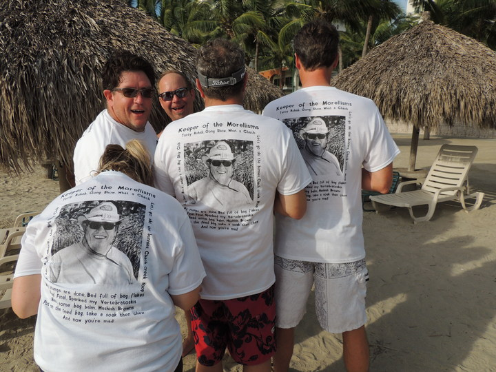 Keeper Of The Morrellisms!! T-Shirt Photo