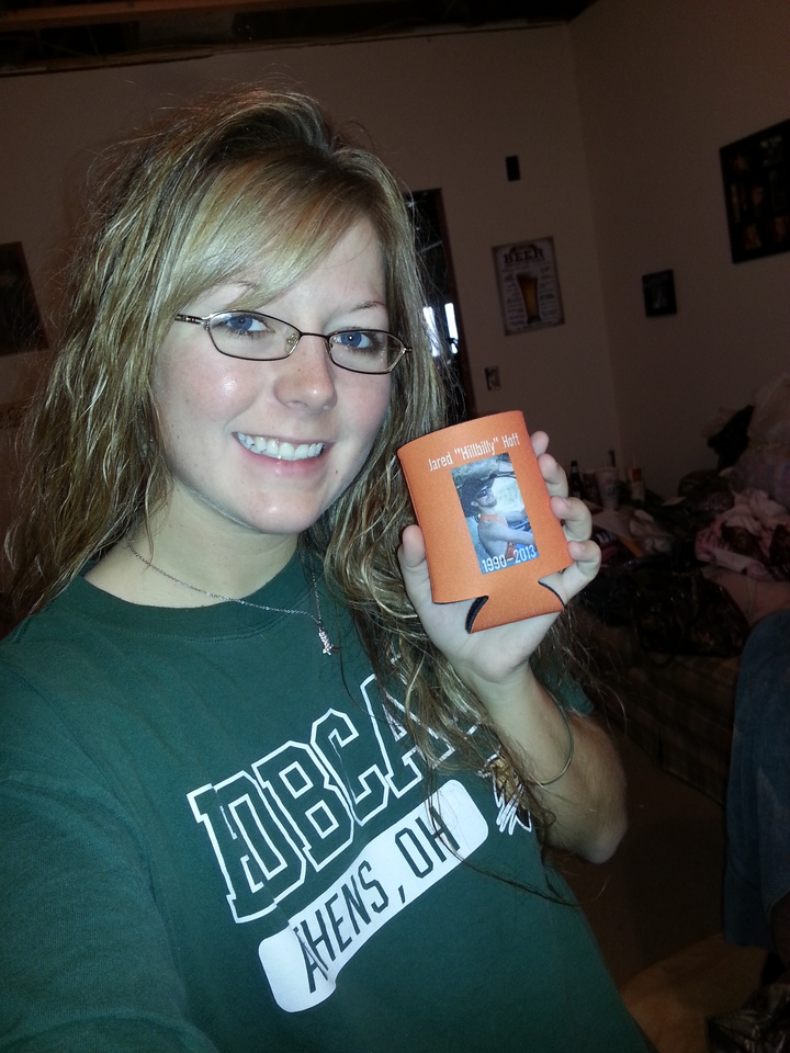 Coozies For My Best Friend Who Just Passed Away! T-Shirt Photo