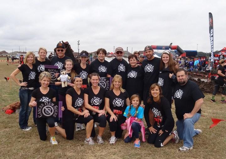 Cancer Plum Sucks   Cathleen's Comeback Event T-Shirt Photo