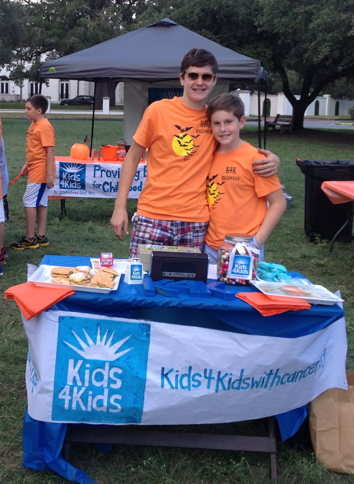 Kids4 Kids Pumpkin Carving Party T-Shirt Photo