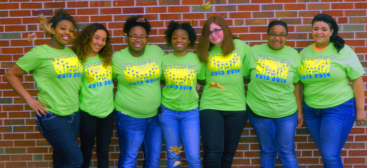 Shs Paw Print Newspaper Staff T-Shirt Photo