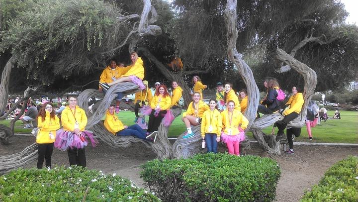 San Diego Susan G Komen 3 Day Youth Corps T-Shirt Photo