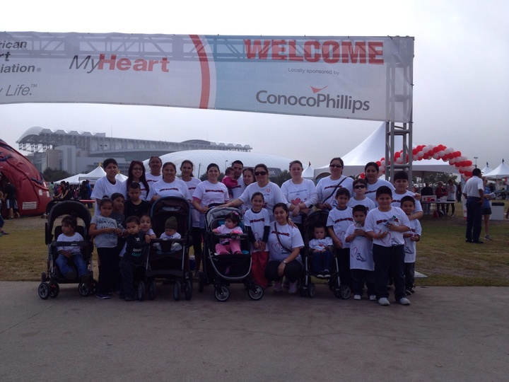 Team Daniella Heart Walk T-Shirt Photo