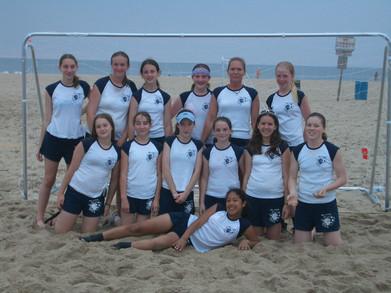 Sand Duels Soccer Tournament   Runner Up T-Shirt Photo