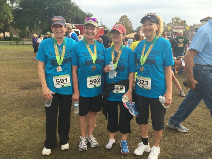 80's Ladies Reunion For A 10 K Race T-Shirt Photo