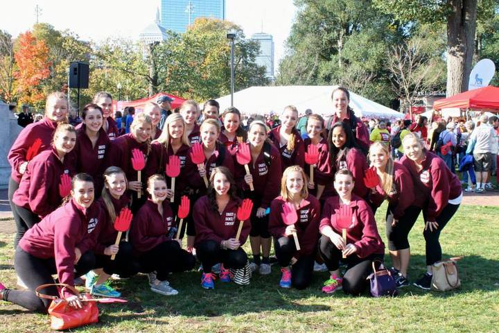 U Mass Dance Company At The Boston Ada Walk! T-Shirt Photo
