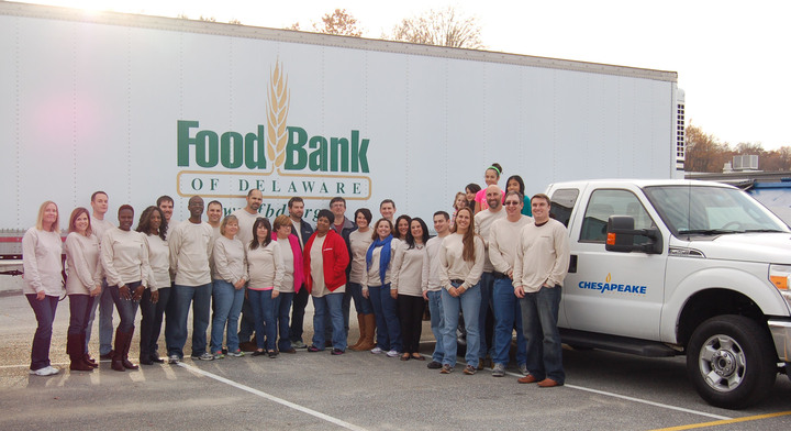 Chesapeake Utilities Partners With Food Bank Of Delaware To Provide 1000 Holiday Meals T-Shirt Photo