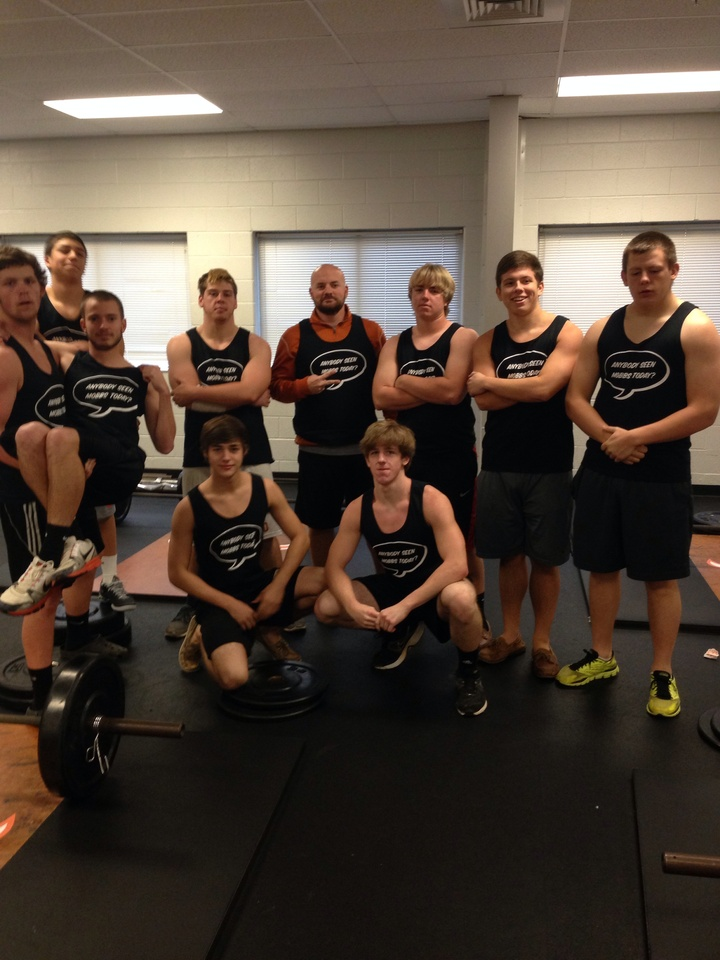 Coach Mobbs's Weight Training Class T-Shirt Photo