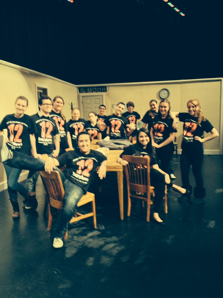 In The Jury Room:  12 Angry Jurors T-Shirt Photo
