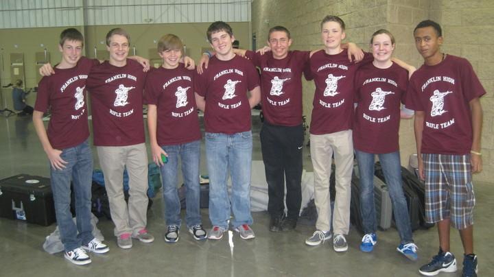 Jrotc air rifle team t shirt design ideas custom jrotc for Jrotc t shirt designs