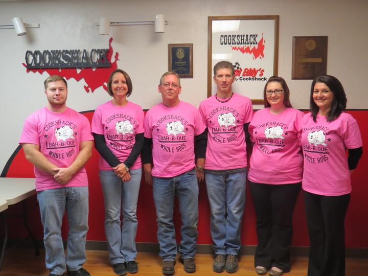 "Cookshack's ""Whole Hogs"" Competition Team T-Shirt Photo"