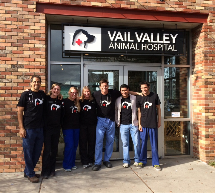 Vail Valley Animal Hospital 5th Annual Pet Outreach T-Shirt Photo