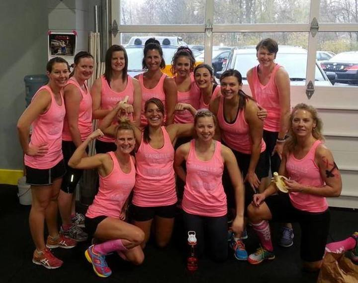 Women Of Crossfit 414 T-Shirt Photo