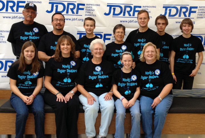 Jdrf Walk To Cure Diabetes T-Shirt Photo