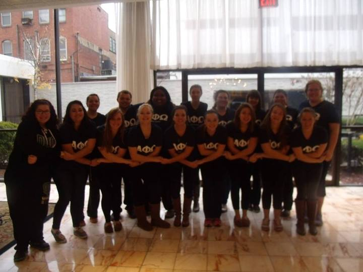 Alpha Phi Omega   Delta Gamma Chapter  T-Shirt Photo