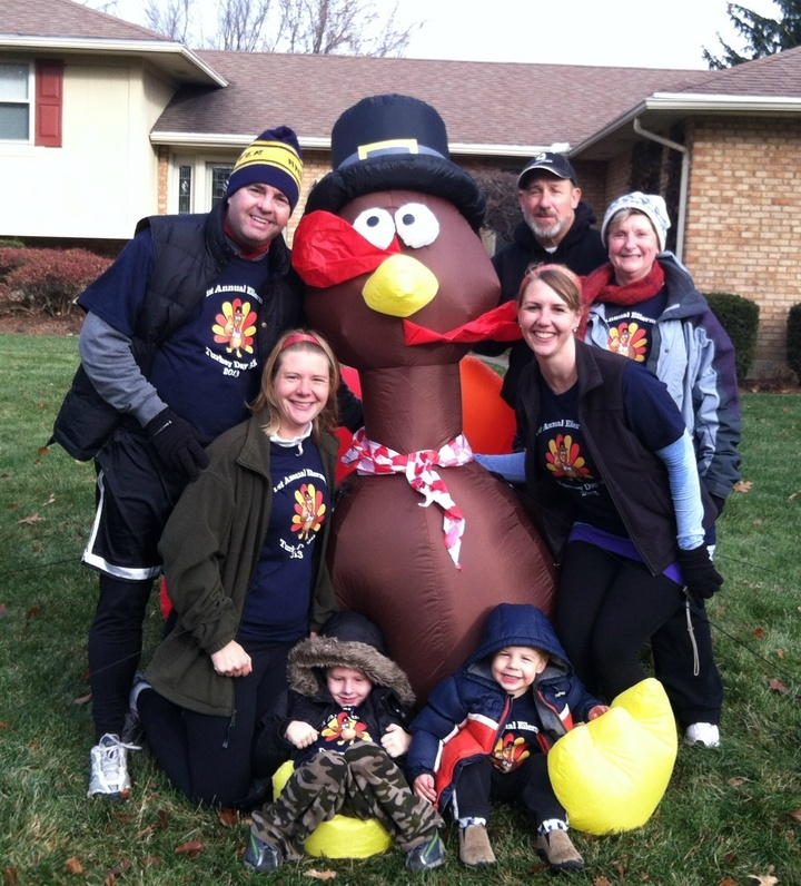 Eilerman Turkey Day 5 K 2013! T-Shirt Photo