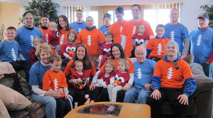 Annual Thanksgiving Pre Game T-Shirt Photo