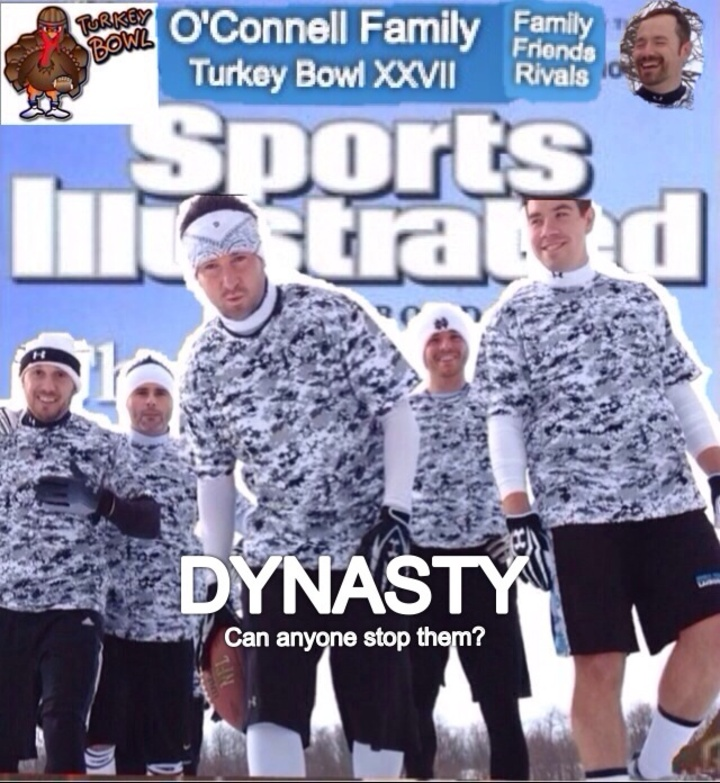 Turkey Bowl 2013 T-Shirt Photo