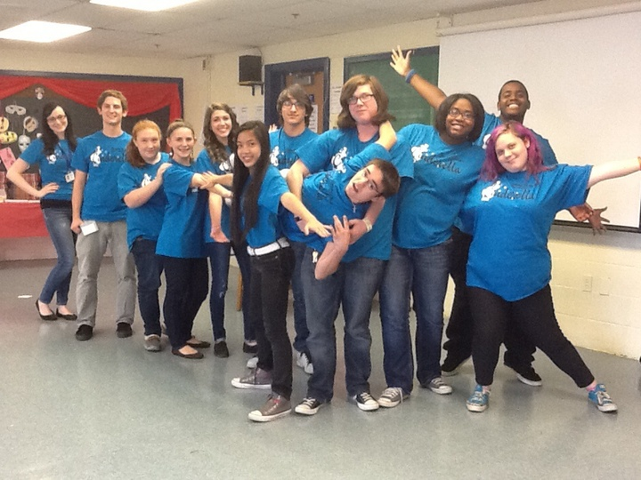 Cast Of Cinderella The Musical T-Shirt Photo