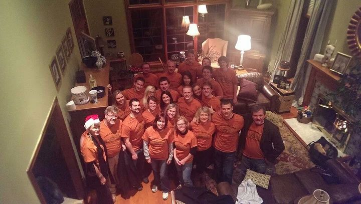 Knuth Family Thanksgiving Bonding T-Shirt Photo