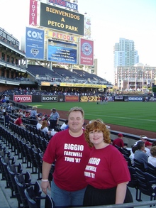 Biggio's Farewell Tour At Petco Park T-Shirt Photo