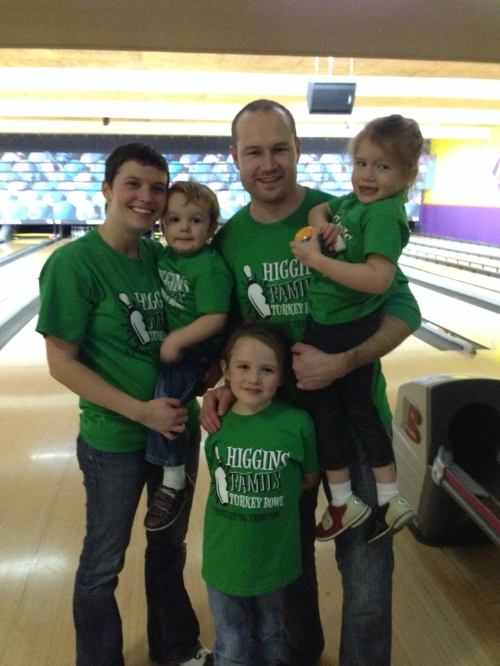 A Family That Bowls Together... T-Shirt Photo