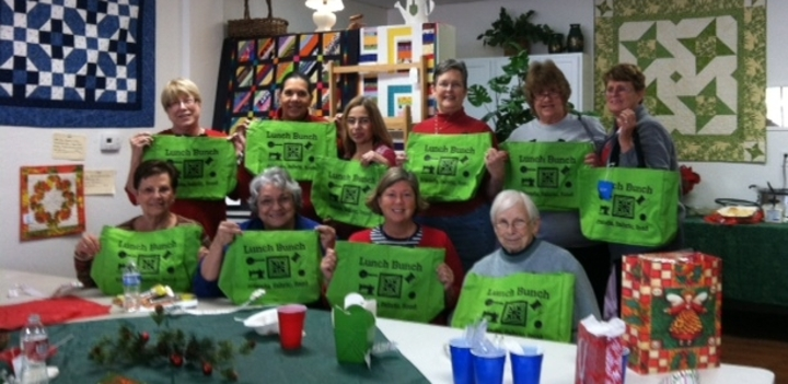 Christmas With Lunch Bunch T-Shirt Photo