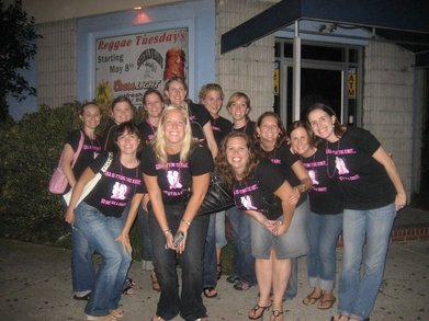 Gina's Bachelorette Party In Ocean City T-Shirt Photo