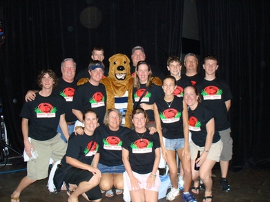 Outback Bowl Pep Rally T-Shirt Photo