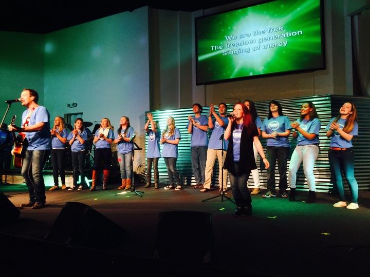 Students Taking Over Big Church! T-Shirt Photo