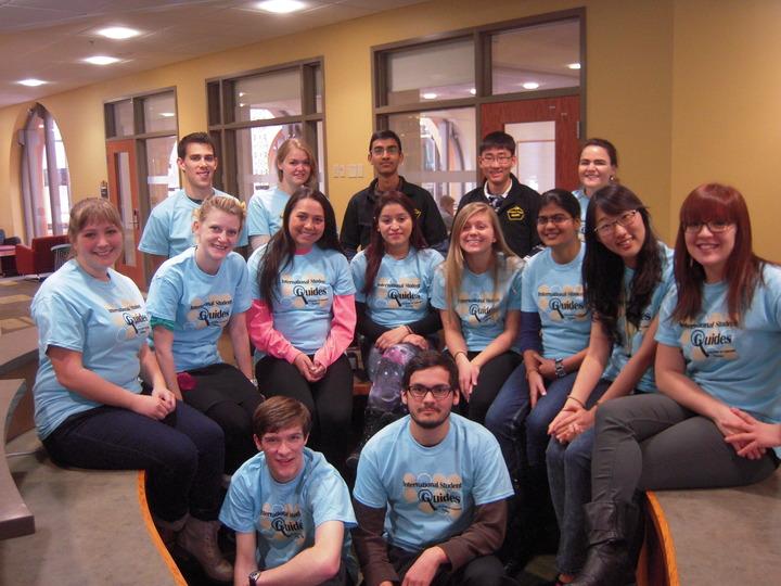 Internation Student Guides T-Shirt Photo