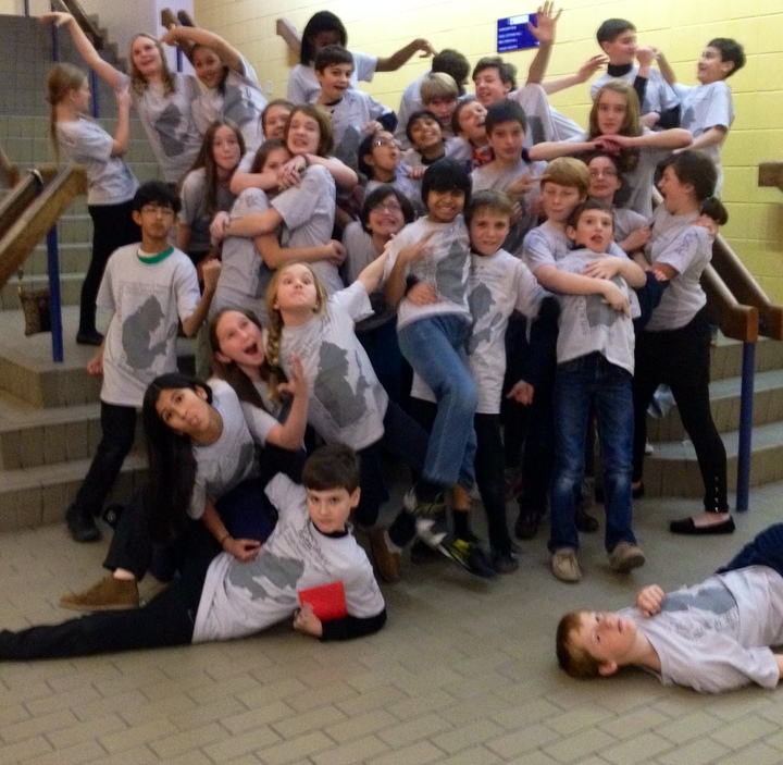 Usm Middle School Fall Play Superstars!!! T-Shirt Photo