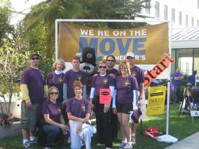 "Memory Walk 2007   Team ""Kelly's Heroes"" T-Shirt Photo"