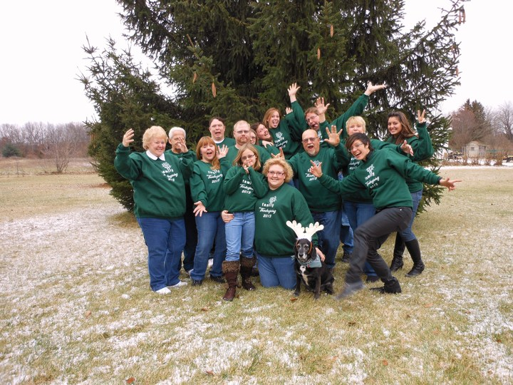 Our 2013 Family Photo T-Shirt Photo