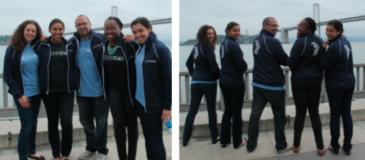 Code2040 Staff   Increasing Diversity In Tech [Bay Area] T-Shirt Photo
