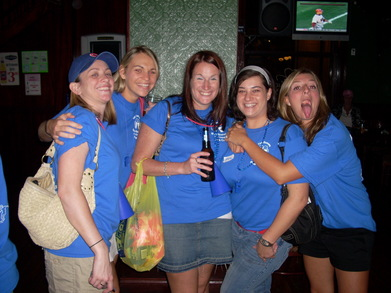 Boston Kickball League Pub Crawl T-Shirt Photo