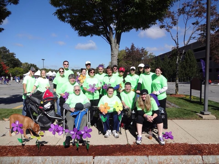 Doing The Nana Walk! Fight To End Alzheimer's! T-Shirt Photo