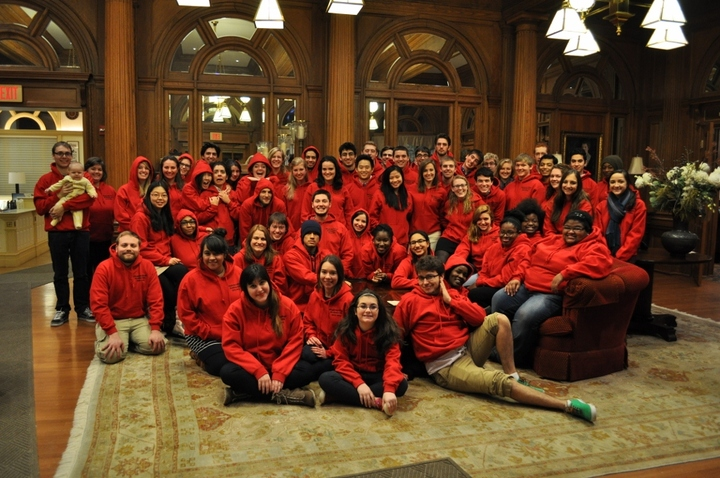Allegheny College Residence Life Staff 2013 T-Shirt Photo