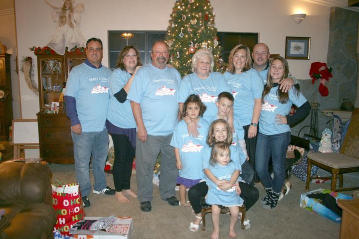 Myers Family Disney Cruise 2014 T-Shirt Photo